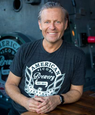 American Icon Brewery owner, Michael Rechter