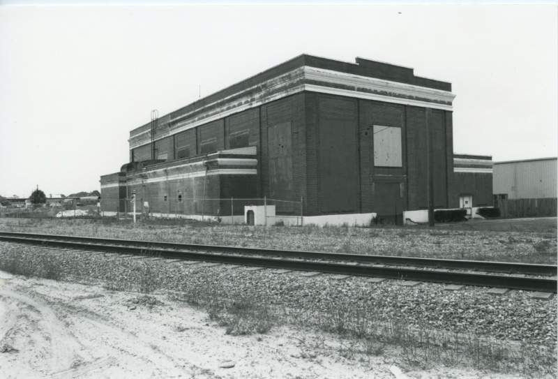 Early image of Diesel Plant exterior