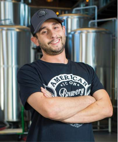 American Icon Brewmaster, Jesse Robles