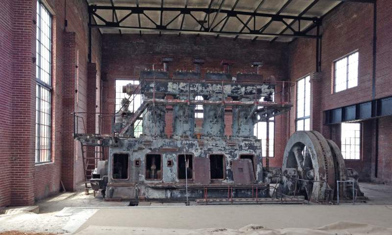 Generator before restoration