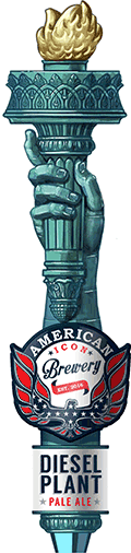 Diesel Plant Pale Ale Tap Handle